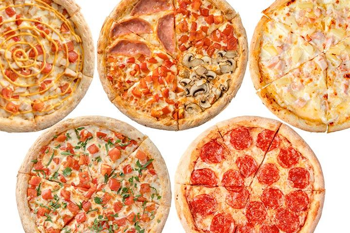 Комбо 5 пицц