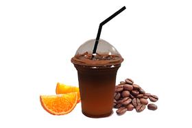 Айс с апельсиновым соком