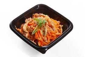 Салат корейская морковь со свининой