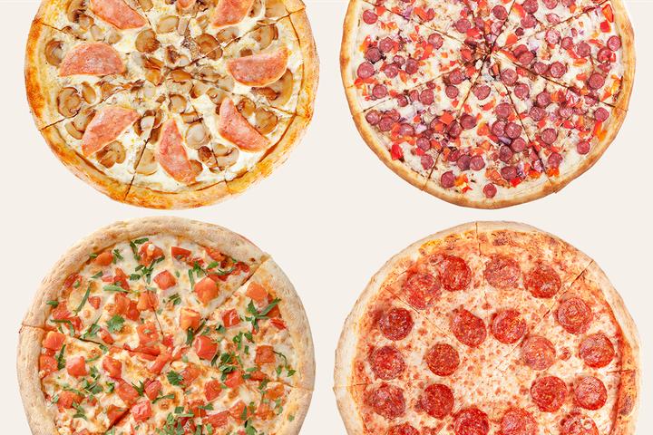 Комбо 4 пиццы