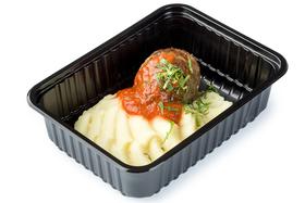 Котлета домашняя с картофельным пюре