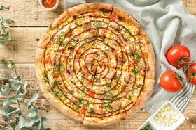 Пицца с купатами