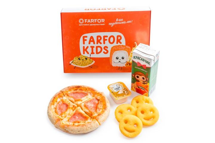 Farfor Kids с Пиццей